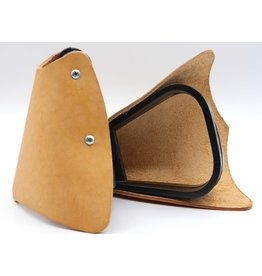 Leather Pony Stirrups With Tapaderos