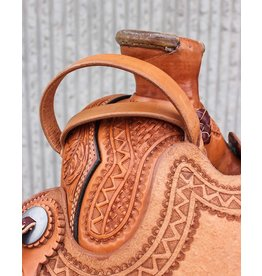 Horse Safety Leather Night Latch Handle