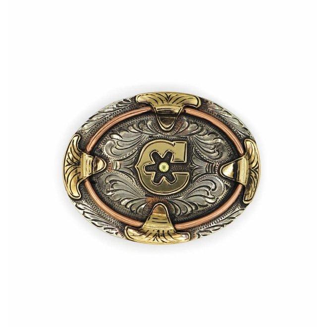 Hebillas Oval Charros Original (Nino) Buckle