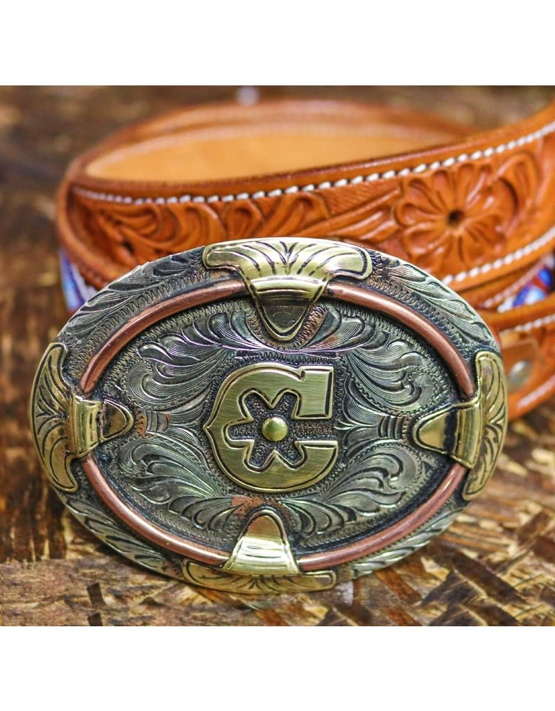Hebillas Oval Charros Original (Nino) Buckle