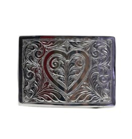 Hebilla Corazon Charra Belt Buckle