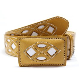 "44"" Mens Charro Belt Tan"