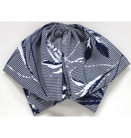 Blue Charro Mono Bow Tie