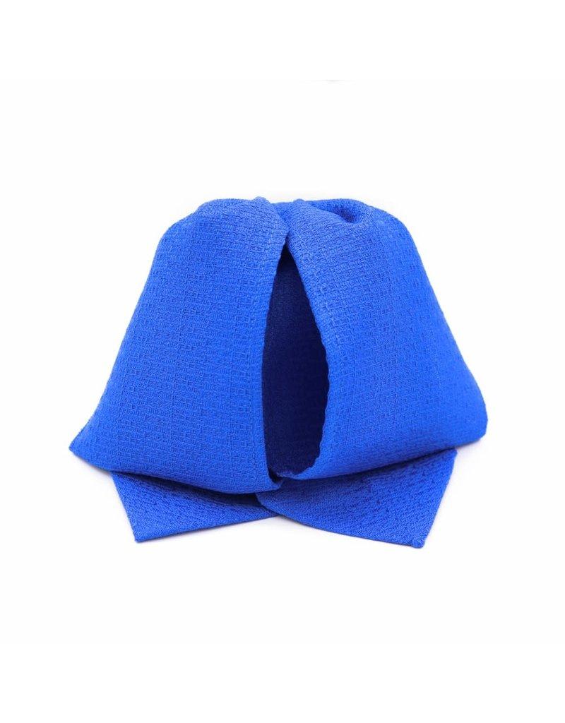 Moño Charro Azul Liso Charro Bow Tie