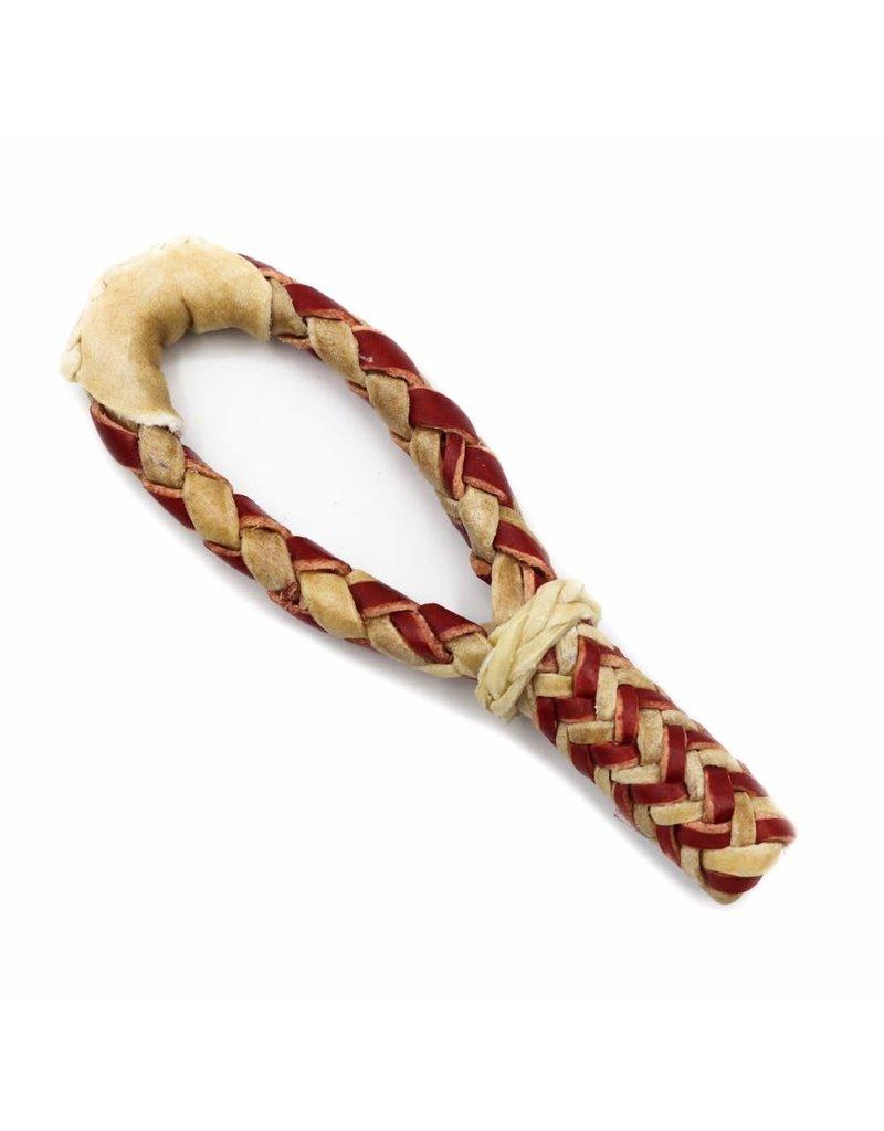Charro Rawhide Red Hondilla Rope Rosadera