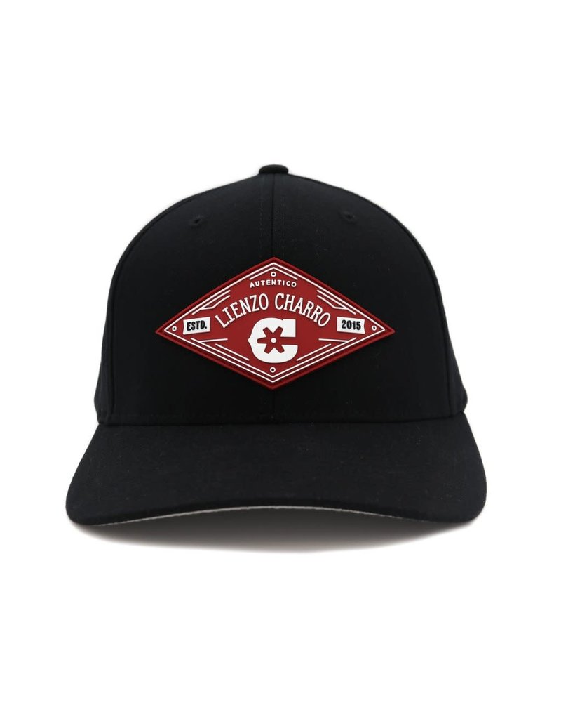 Black (Flex Fit) Hat Cachucha Charros Original