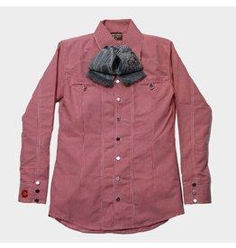 Camisa Charra Roja Estampada Charros Original