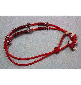 Riendas Boton Rojo charreria Charro Reins