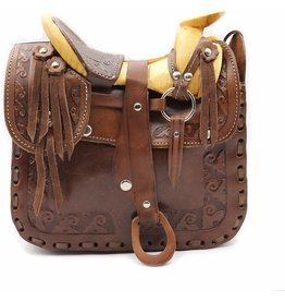 Western Hand Tooled Medium
