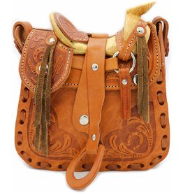 Cowgirl Handbag Tooled  Small