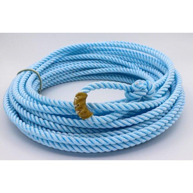 60 Ft Poly-Nylon (Soga) Blue Soga de Plomo Charreria