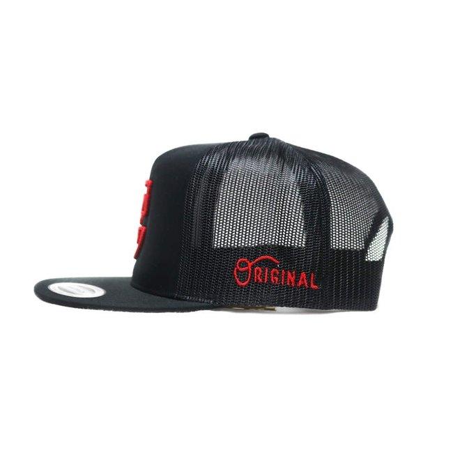 """""""MX"""" Black Snapback Charros Original Authentic Cap"""