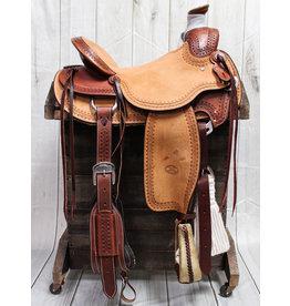 """16"""" Billy Cook Hard Seat Wade Saddle"""