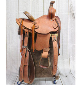 "10"" Roughout Kids Rodeo Western Saddle"