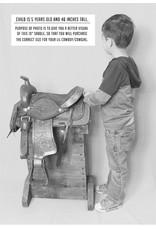 """10"""" Pony Horse Saddle Kids Cowboy Cowgirl Pleasure Leather Black  Western Saddle"""