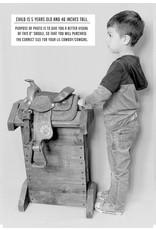 """8"""" Black Mini Toddler Size Leather Western Miniature Pony Saddle"""