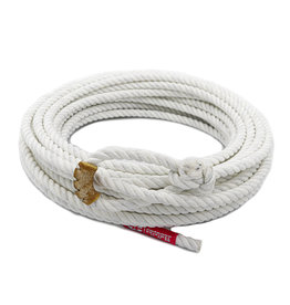 50 ft Poly - Nylon White Lead Rope