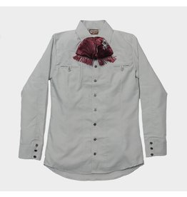 Camisa Charra Gray/Green (Color Cemento) Charros Original