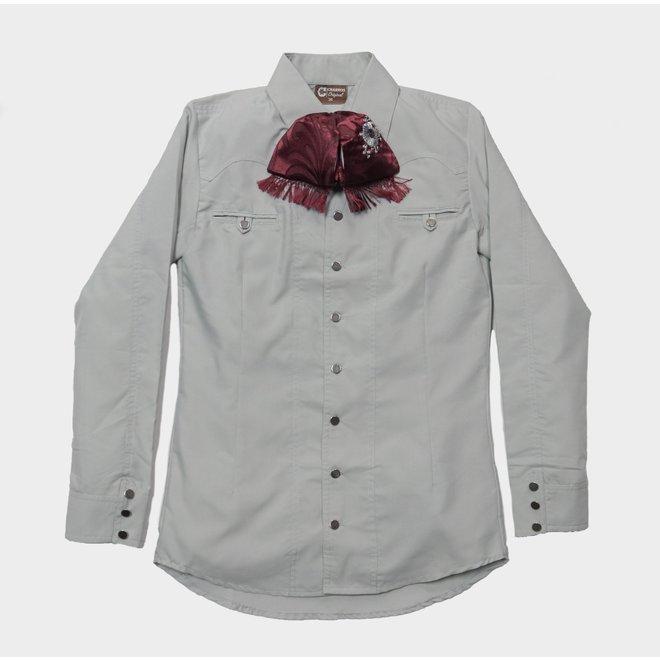 Camisa Charra Gray/Green (Color Cemento) Charros Original
