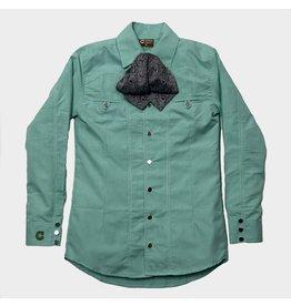 Camisa Charra Verde Estampada Charros Original