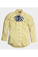 Camisa Charra Lisa Amarilla Charros Original
