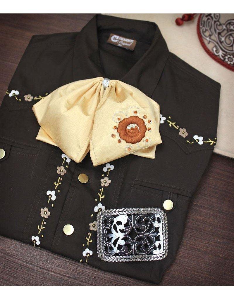 Camisa Charra Cafe V Charros Original