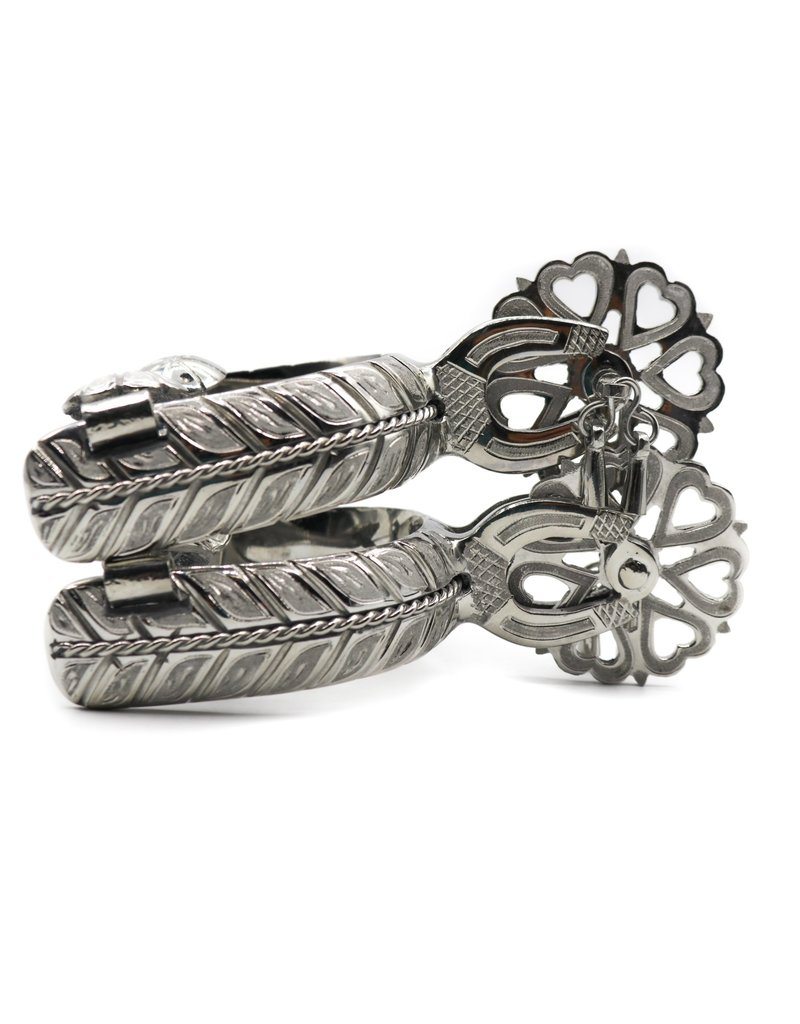 Espuelas Corazon Acero Spurs Stainless Steel