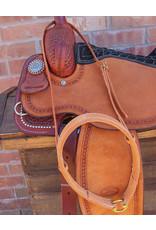 Working Cowboy Russet Noseband Western halter