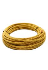 Yellow Soga De Plomo Poly-Nylon Lead Core Rope Cowboy