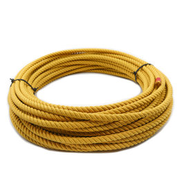 Yellow Soga De Plomo Poly-Nylon Lead Rope