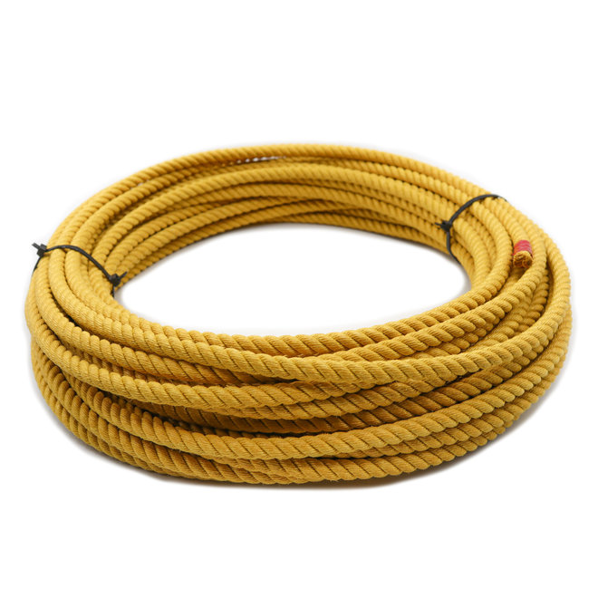 Yellow Soga De Plomo Poly-Nylon Lead Rope