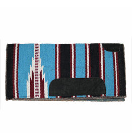 Western Saddle Pony Pad Blue