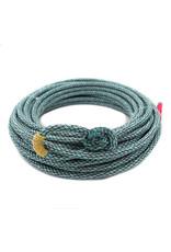 50 Ft Blue/Multi Poly-Nylon (Lead Core) Rope Soga Azul/Multi De Plomo Cowboy