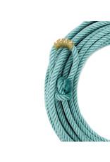50 Ft Turquoise Poly-Nylon (Lead Core) Rope Soga de Plomo Turquesa Cowboy Lasso