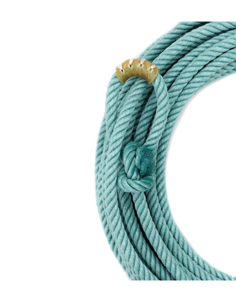 60 Ft Turquoise Poly-Nylon (Lead Core) Rope Soga De Plomo Turquesa Cowboy Lasso