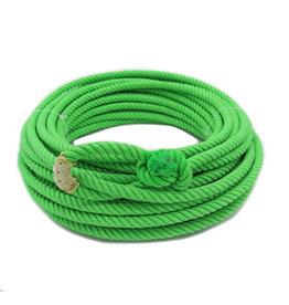 50 Ft Lime Green Poly-Nylon (Lead Core) Rope Soga de Plomo Verde Limon