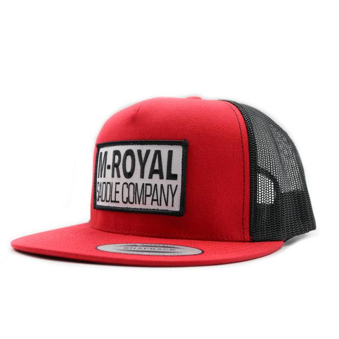 M-Royal Saddle Company Red Hat Cachucha