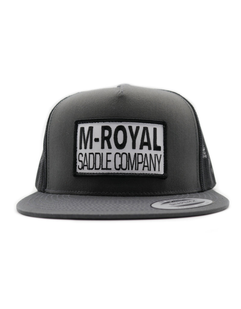 M-Royal Saddle Company Grey Trucker Hat Cachucha