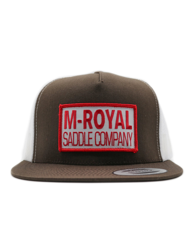 M-Royal Saddle Company Brown Trucker Hat Cachucha
