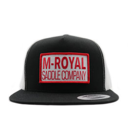 M-Royal Saddle Company Black Trucker Hat Cachucha
