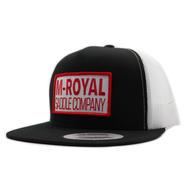 M-Royal Saddle Company Black Trucker Hat Cachucha