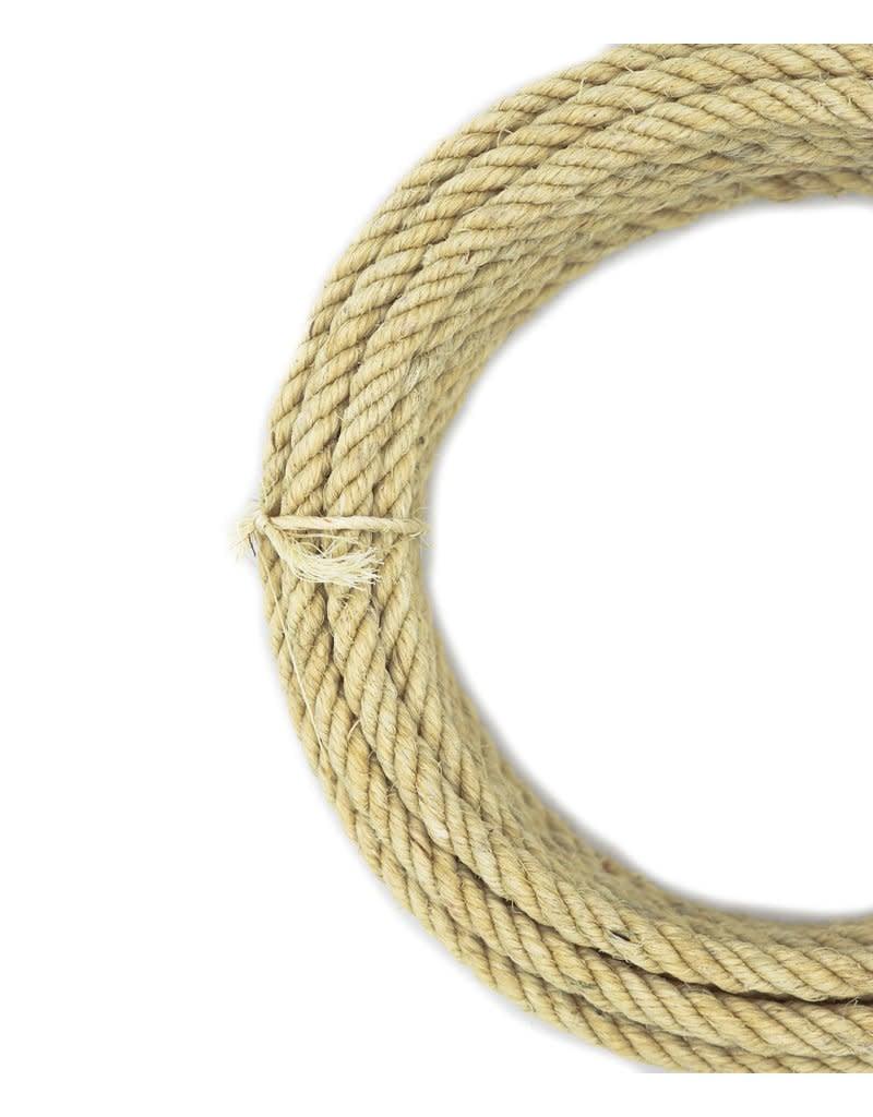 26 ft Natural Ixtle Kid Rope Soga de Ixtle Natural Para Niño