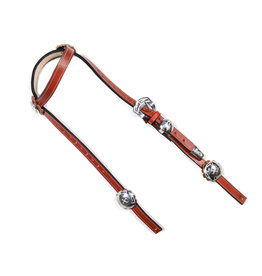 Cabezada Con Herraje De Acero Inoxidable Stainless Steel Headstall
