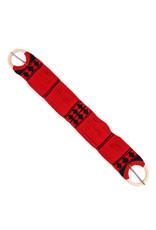"""35"""" Cincho Rojo Simple Tradicional Red Traditional Horse Cinch"""