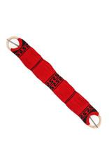 """35"""" Red Simple & Traditional Horse Cinch Cincho Tradicional Simple Rojo"""