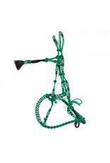 Bosal Algodon Verde Trenzado Braided Cotton Green Horse Bosal