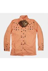Camisa Charra Bordada Salmon Charro Shirt