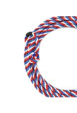25 Ft Kids Poly-Nylon Rope Tricolor Soga de Plomo Para Nino