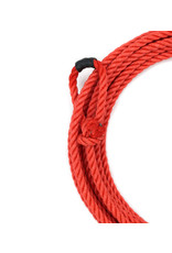 25 Ft Kids Poly-Nylon Rope Red Soga de Plomo Para Nino Roja
