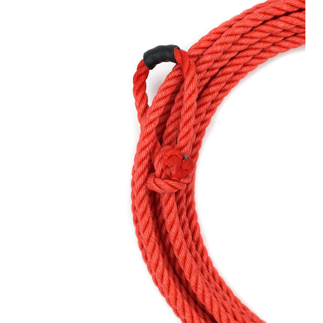 25 Ft Kids Poly-Nylon Rope Red Soga de Plomo Para Nino Roja